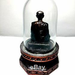 RARE Phra Somdej Wat Rakhang Statues Figure Thai Buddha Amulet Wealth Lucky