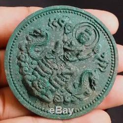 RARE THAI AMULET JATUKAM RAMATHEP ANTIQUES BUDDHA be2550