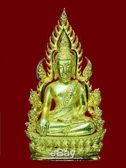 REAL! Thai Buddha Amulets Phra Chinnaraj jomrachan wat Yai be. 2555 with code