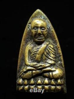Rare BE2505 Phra LP Tuad, Thuad Pim TaoReed A, Wat Changhai Thai Buddha Amulet