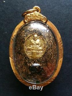 Rare! BIE GAE LP THUAD Thai Buddha Amulet Powerful Magical PROTECT EVIL