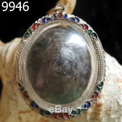 Rare Bia Kae LP Boon Wat Klang Bang Kaew Thai Buddha Amulet #9946g