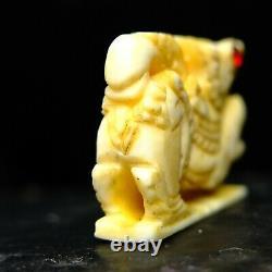 Rare Clolectibles Luang Por Homem wat chan mark Thai Buddha amulet Card