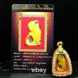 Rare Collectibles, Loungpor pan Wat Klong Dan for Charming, Thai buddha & Card