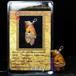 Rare Collectibles, Loungpor pan Wat Klong Dan for Charming, Thai buddha & Card2