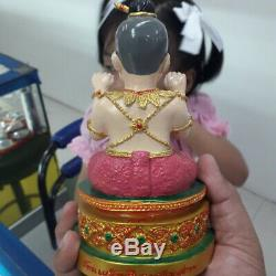 Rare Guman Thong kruba Kruba Krissana God Kuman Thap Lucky Thai Buddha Amulet