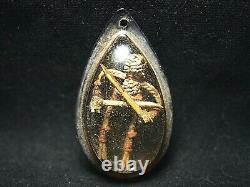 Rare Hoon Payon Muay Thai Warrior Arjarn Roy Wat Suwan Thai Buddha Amulet