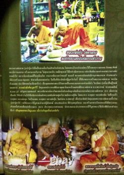 Rare! LP THUAD Wat Chang Hai OLD Thai Amulet Buddha Lucky Pendant Protect Life