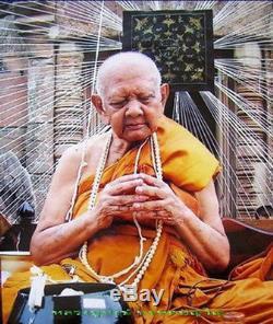 Rare Locket Lersi Khaokulen Pimyai LP Hong Thai Buddha Amulet Rich Rare 2555 BE