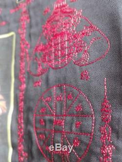 Rare Lp Koon Wat Banrai Thai Genuine Yantra Talisman jacket coat buddha BE2547