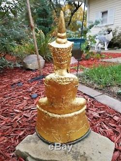 Rare, Old, Incredible Phra Chai Bucha! Ngang Ngung Thai Amulet Buddha