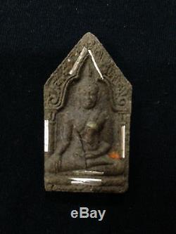 Rare! Phra Khun Paen LP Koon Wat Banrai 19Takrut BE1993 Old Thai Amulet Buddha