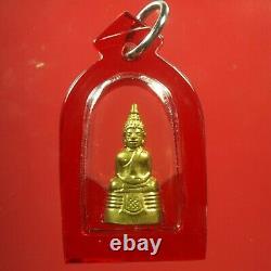 Rare Phra Kring LP Sothorn Wat Sothon Wararam BE2508, Thai buddha amulet & Card