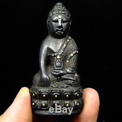 Rare Phra Kring Yai, Wat Suthat Bangkok yr 2485 Jao Khun Sri Sonthi Thai Buddha