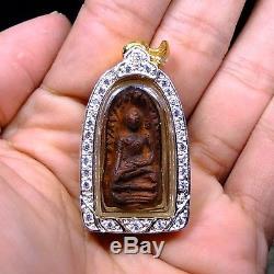 Rare Phra Rod, Kru Wat Mahawan, Lamphun, Phim Yai, Thai Buddha Amulet