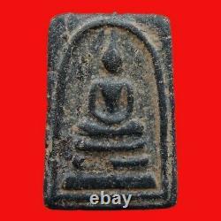 Rare Phra Somdej Lp Suang Dhewada Len Din Magic Thai Buddha Amulet Rich Pendant