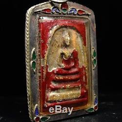 Rare Phra Somdej Toh Bangkhunprom Buddha year 2411-2412, thai buddha amulet 2