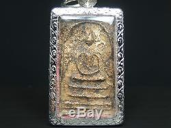 Rare Phra Somdej Toh Bangkhunprom Buddha year 2411-2412, thai buddha amuletAAA+