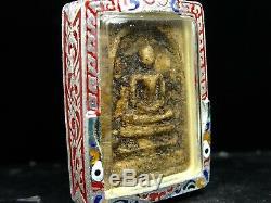 Rare Phra Somdej Toh Wat Rakhang Buddha, Phim Yai, Thai buddha amulet Certi Card