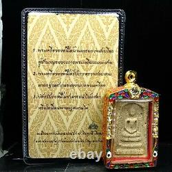 Rare Phra Somdej Toh Wat Rakhang Buddha, Phim Yai, Thai buddha amulet Certi Card3