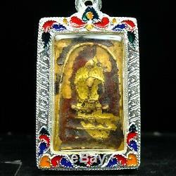 Rare Phra Somdej Toh Wat Rakhang, Phim Sen dai, Thai buddha amulet Certi Card