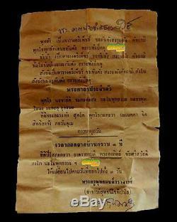 Rare! Phra Somdej, Wat Suthat, Old Talisman, Thai buddha Amulet, Wat Sutat FREE