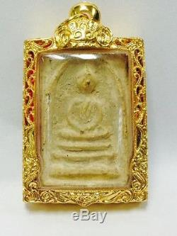 Rare! Phra Somdej, Wat Suthat, Old Talisman, Thai buddha Amulet, Wat Sutat, HOT