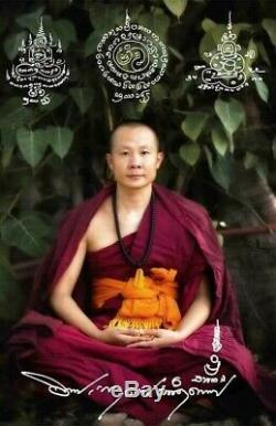 Rare! Pratyekabuddha 1st Generation Kruba Kritsada Sumetho Thai Amulet Buddha