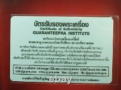 Rare Rien Phra LP Sothorn Wat Sothon Wararam BE2495, Thai buddha amulet & Card