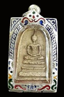 Rare Thai Amulet Buddha Pendant Phra Somdej Lp Toh Wat Rakang Pim Yai Antique