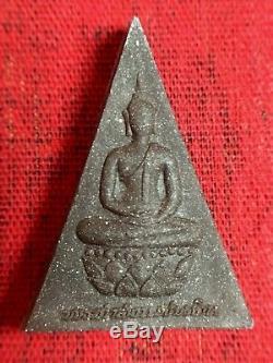 Rare Thai Amulet Buddha Phra Somdej Chitralada King Bhumipol Rama9 B. E. 2539