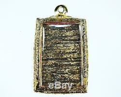 Rare Thai Amulet Phra Somdej Wat Rakang Back Rong Kradan Magic Sacred Buddha Old