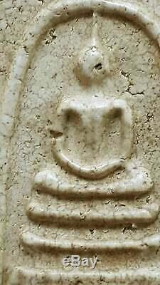 Rare Thai Amulet Thailand Buddha Phra Somdej LP TOH Wat Rakang Thai Antiques