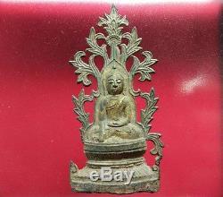 Rare Thai Antique Chiang Saen Buddha Statues