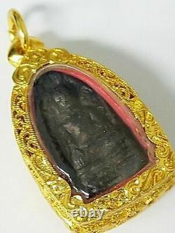 Rare! Thai Buddha Amulet, Phra Rod, Luang Phor Pae, Old Talisman, Holy Buddha