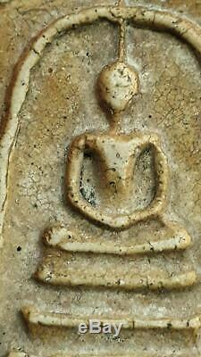 Real Antique Phra Somdej Lp Toh Wat Rakang Pim Yai Talisman Thai Buddha Amulet