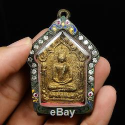 Real Clay Pra Khun Phan LP. TIM thai buddha amulet BE2515(condition excellent)AAA