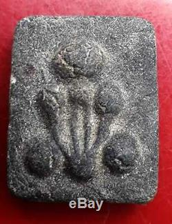 Real First Edition Phra Pidta Kradook Phi Wat Pho Thai Buddha Arjan Noo Amulet