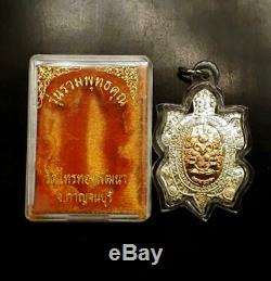 Real LP LIEW Rian ROAM PHUTTAKHUN Thai Amulet Buddha Success Money