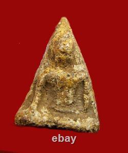 Real Magic Thai Ancient Amulet Buddha Phra Nang Phaya, Kru Phitsanulok, Pendant