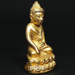 Real Phra KRING Chinbanchon WAT BOWONNIWET, Thai Buddha amulet