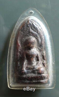 Real Phra Kru Lanna Amulet Thai Magic buddha Powerful Lucky Talisman
