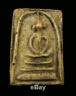 Real Phra Somdej Bangkhunprom Thai Amulet Buddha Phim Sangkati year 2411-2413