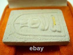 Real Rare Phra Somdej Gold Arm Takrut LP Koon Wat Banrai Thai Buddha Amulet