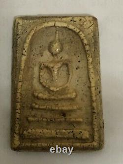 Real Temple Thai Buddha Buddhism Clay AMULET Medallions Charms Pendants (35)