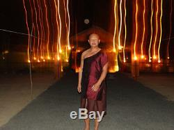 Real Thai Amulet 5 Buddha AJ Mom Success Protect Wearer All Dangers UFO Talisman