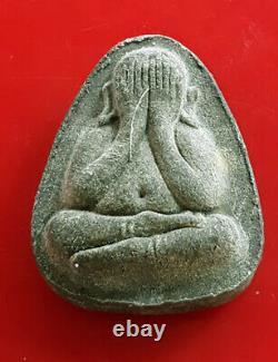 Real Thai Buddha Phra Pidta Amulet Pim Jumbo LP Toh Wat Pradu Chimplee Talisman