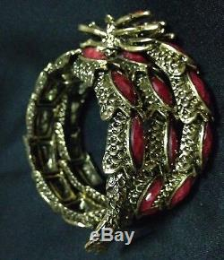 Red Eye Bracelet Bangle Buddha Payanak Naga Dragon Magic Thai Amulet Tasilman