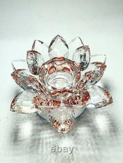Red Lotus Glass Kaew Naga Eyes Gems Thai Amulet Buddha Talisman Magic Rich Charm