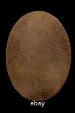 Rein Toe-hack Lp Thong Wat Sampowchoey 2529 Magic Coin Buddha Rare Thai Amulet